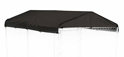 Weatherguard Dog Kennel Cover Medium All Season Dog Run Cover & Roof for Lucky X