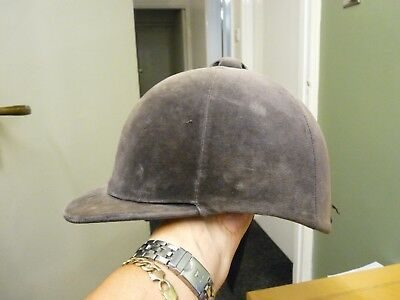 Vintage Horse Riding Hat - Champion - Silly Cheap - Spare Only - Look