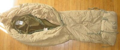 Original WWII US Army Wool Sleeping Bag with Arctic Outer Casing - Excellent
