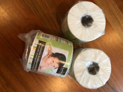 Kushies Flushable Biodegradable Cloth Diaper Liners Lot of 3