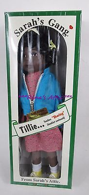 Vintage Sarah's Attic Gang TILLIE Doll ~ Teaches Sharing AA African American