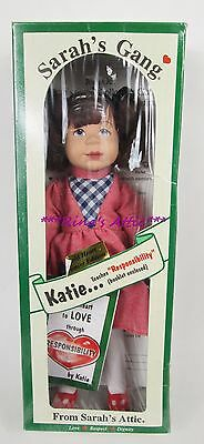Vintage Sarah's Attic Gang KATIE Doll ~ Teaches Responsiblilty