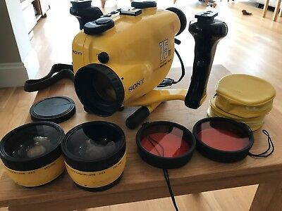 Sony Handycam Underwater Video Housing  MPK-TRS 75m + Accessories for Diving