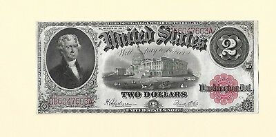 SERIES-1917-US- $ 2-LARGE-SIZE-Bank Note