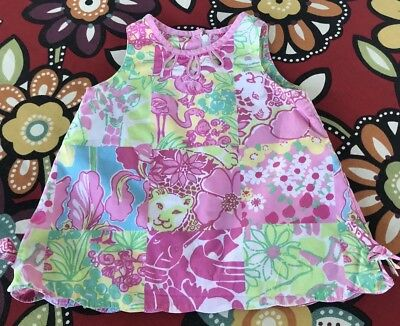 Infant Girl'S Lilly Pulitzer Shift Dress - Size 6-12 Months