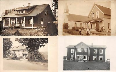 Lot of 16 Assorted People Real Photo Postcards #115594 R