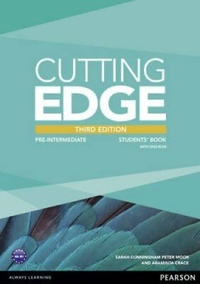 Cutting Edge 3rd Edition Pre-Intermediate Students' Book and DV... 9781447936909