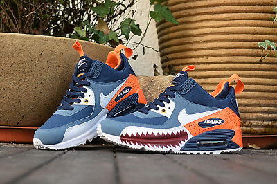 new GENUINE AIR MAX 90 ESSENTIAL Men's Trainers in High upper UK7.5/EUR42 blue