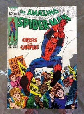 The Amazing Spider-Man #68 (Jan 1969), VG, with the Kingpin