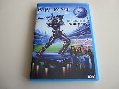 Babe Ruth - Live In Montreal 1975 DVD