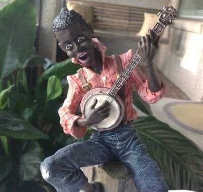 Banjo Man The Early American Ebony Series  Duncan Royale 1990 Ltd. Ed. 2627/5000
