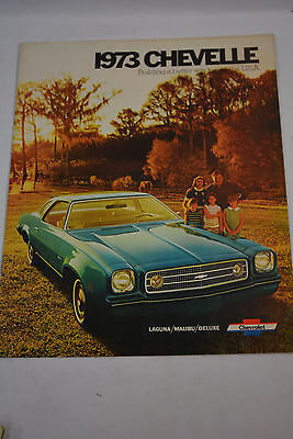 1973 Chevelle Chevrolet Factory Sales Brochure Catalog