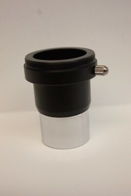 """1.25"""" Telescope Extension Tube Adapter with T Threads - Extends out 1-3/8""""  NEW!"""