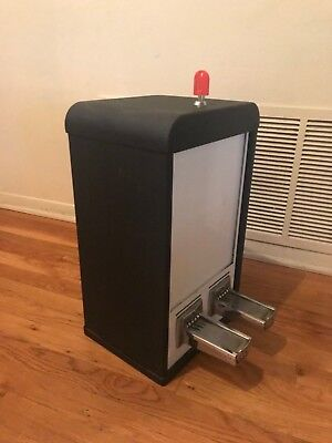 A&A black 2 column sticker machine used working condition 50 cent