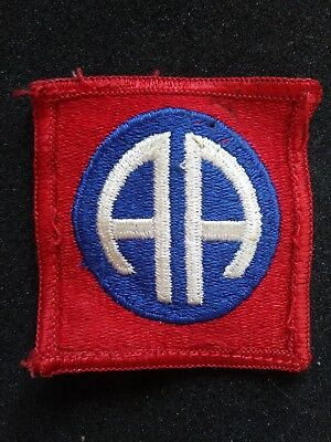 British Made WW11 U.S ARMY 82nd Division Airborne Military Patch Theatre Made