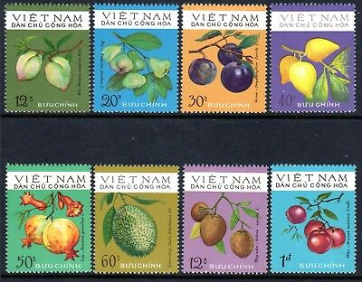 1975 NORTH VIETNAM FRUITS SGN817-824 mint no gum as issued