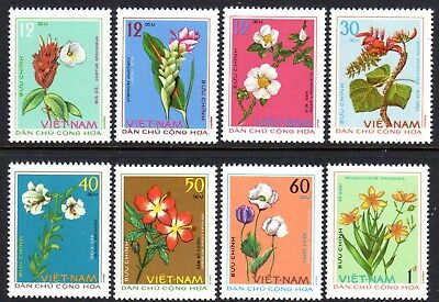 1975 NORTH VIETNAM MEDICINAL PLANTS SGN809-816 mint no gum as issued