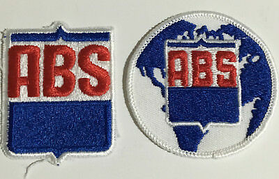 ABS-American Breeders Services Logo Patch 2 patches