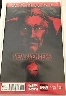 New Avengers (2013 3rd Series) Annual #1 FN Marvel Barbiere/Rudy