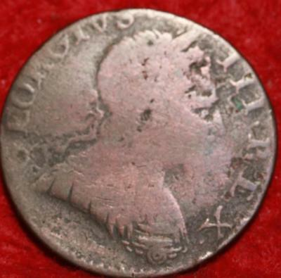 1774 Great Britain 1/2 Penny Foreign Coin