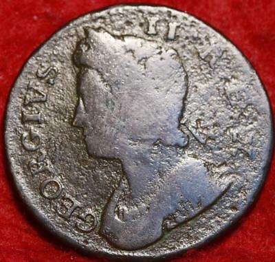 1738 Great Britain 1/2 Penny Foreign Coin