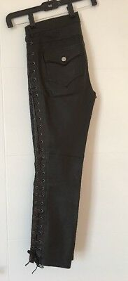 ab4445489983 NEW ISABEL MARANT Brown Nappa Leather Trousers 40 Us 8 M -  850.00 ...