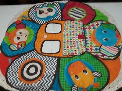 Infantino Play and Away Shopping Cart Cover and Play Mat Jungle