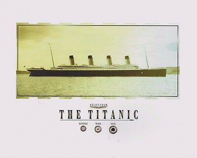 Genuine TITANIC relics, pieces, artifacts, parts, remnants....COAL/WOOD/RUSTICLE