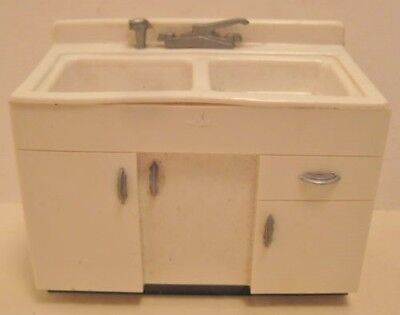 Old Plastic Miniature Sink Bank Advertising Youngstown Kitchens Warren Ohio