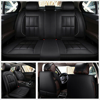 Luxury PU Leather Car Seat Covers Universal Full Seat Covers For All Seasons
