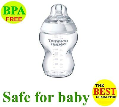 Tommee Tippee Closer to Nature Sensitive Tummy 5 oz Bottles Slow Flow 0m+