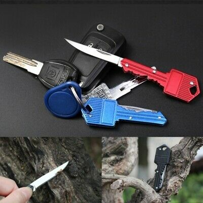 Pocket Folding Blade Small Knife Key Knife Outdoor Fishing Camping Survival