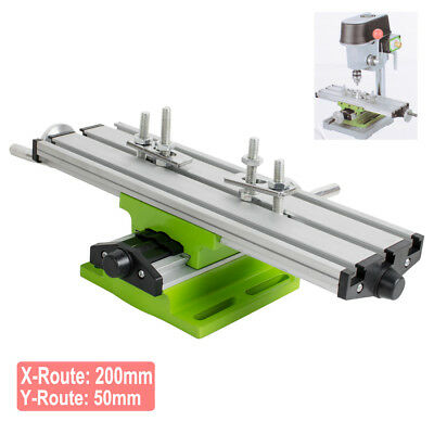 Cross Sliding Table Vise For DIY Lathe Bench Drill Milling Machine CE