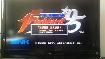 THE KING OF FIGHTERS 95 Playstation Tested Disk Only