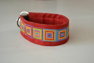 Collier chien lévrier / Greyhound collar-whippet, galgo, saluki, afghan, etc