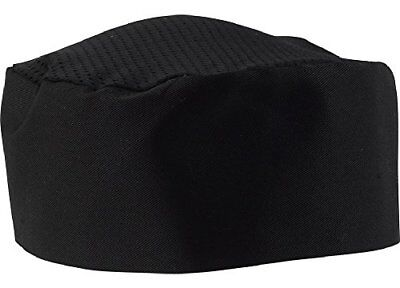 Black Chef Hat - Adjustable. One Size Fit Most 1
