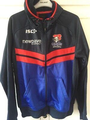 Newcastle Knights Tracksuit Top Size Small Good Condition