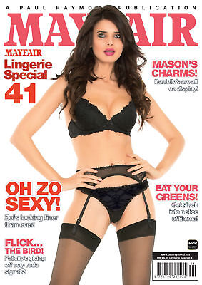 "Mayfair Lingerie Special No.41 Includes a 9x6"" approx photo of Model Vida Garman"
