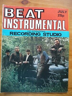 """beat Instrumental"" No 99 (Jul 1971) Idle Race, Band, Budgie. Tya, Arthur Brown,"