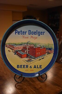 Antique Peter Doelger Brewing First Prize Beer and Ale Tray