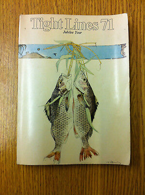 Tight Lines 71 Jubilee Year Fishing Book from ABU Sweden Vintage Fishing Tackle