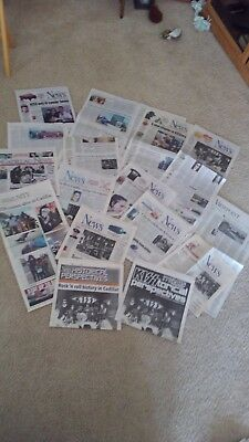 Cadillac kiss newspapers and newspaper clippings