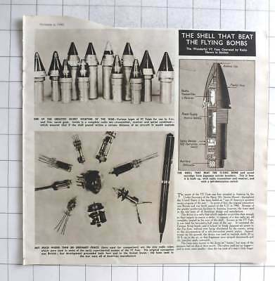 1945 Secret War Weapon, VT Fuses That Beat The Flying Bombs