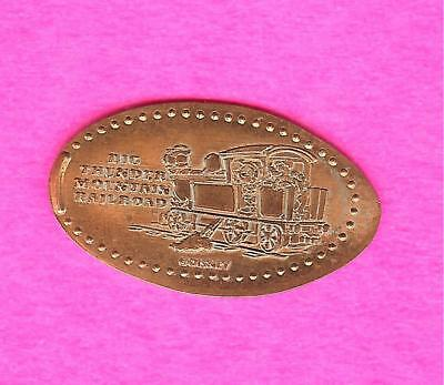 Disneyland Big Thunder Mountain Railroad Train Elongated Smashed Penny