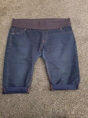 New Look Maternity Jegging Shorts 14