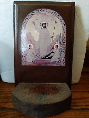 Orthodox Christian Wooden Icon Resurrection Of Christ