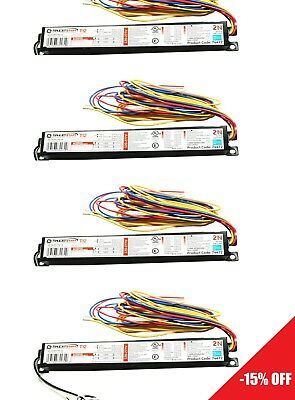 4x GE260IS-MV-N GE 74474 Electronic Ballast for 2 F96T12 bulb Multi-Volt ProLine