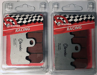 Bmw R 1200 Gs Adventure 2014 > Brembo Sc Sintered Brake Pads 2 Sets Racing