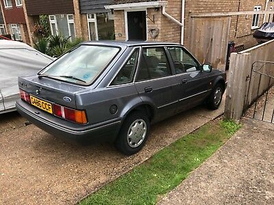Escort mk4 1.6 gl barn find only one previous owner