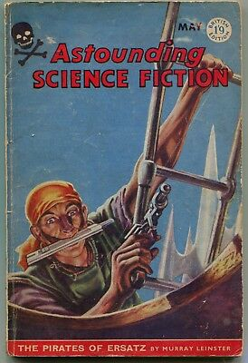 Astounding Science Fiction  British Edition May 1959